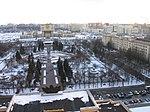 Вид из Главного здания МГУ (ауд 1304) 2018-03-28.jpg