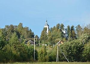 Yuryevetsky District - The selo of Zharki in Yuryevetsky District