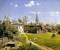 В. Д. Поленов. Московский дворик. 1878.jpg
