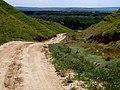 Дорога меж живописных холмов - выводит к долине реки Прут - panoramio.jpg
