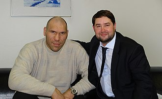 Nikolai Valuev - Valuev with Igor Nikitin, 2011