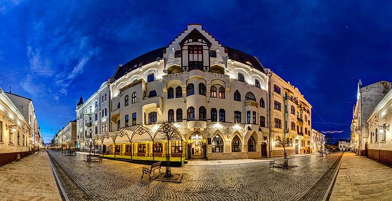 Німецький народний дім, Чернівці. Автор фото — Максим Присяжнюк, ліцензія CC-BY-SA-4.0