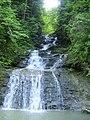 Один з Буковинських водопадів.JPG