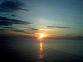 Острів Зміїний, захід сонця.jpg