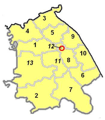 Административная карта области