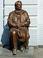 Пам'ятник С.В.Данченко, режисеру, біля малої сцени.JPG
