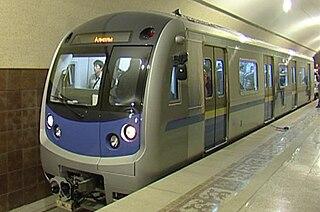 Almaty Metro rapid transit system in Almaty, Kazakhstan