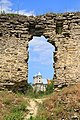 Сидорівський замок костел.jpg