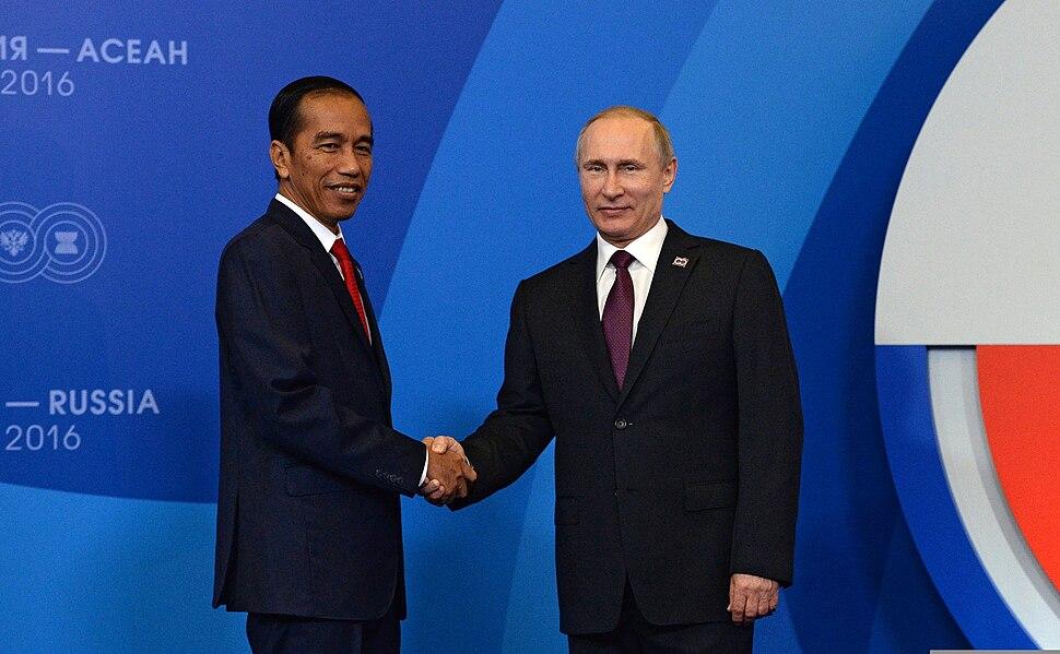 С Президентом Республики Индонезии Джоко Видодо