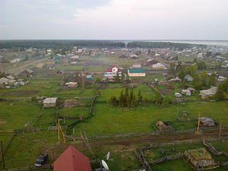 Toybokhoy Selo in Sakha Republic, Russia