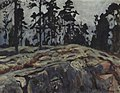 Финляндия. Лес. 1908.jpg