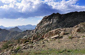 Ta'if - Landscape from south of Ta'if (Saudi Arabia).
