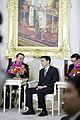สมเด็จอัครมหาพญาจักรีเฮง สัมริน ประธานสภาแห่งชาติกัมพู - Flickr - Abhisit Vejjajiva.jpg