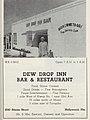 """DEW DROP INN BAR & RESTAURANT 2243 Simms Street Hollywood, Fla."" - The Travelers' Green Book 1962 (page 25 crop).jpg"