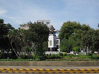 Tang Te-chang Memorial Park A park in Tainan