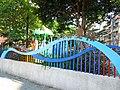 瓦磘里兒童遊樂區廣場的中山路側文字20141120.JPG