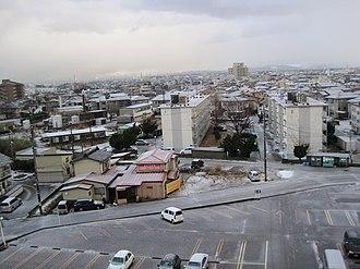 Jōetsu, Niigata - View of Naoetsu area in Jōetsu