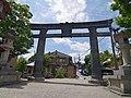 銅の鳥居 吉野山にて Kane-no-torii 2013.6.17 - panoramio.jpg