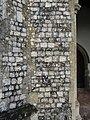 -2020-11-12 Knapped flintwork, South porch, All Saints, Upper Sheringham.JPG