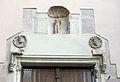 008 Sant Jeroni de la Murtra, capella de Sant Sebastià, fornícula i medallons.JPG