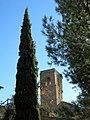 014 Campanar de Sant Urbà de Montsonís, angle nord-oest.JPG