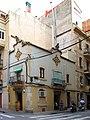 027 Casa Joan Ors, c. Comte de Santa Clara 13 - c. Sant Carles 12 (Barcelona).jpg