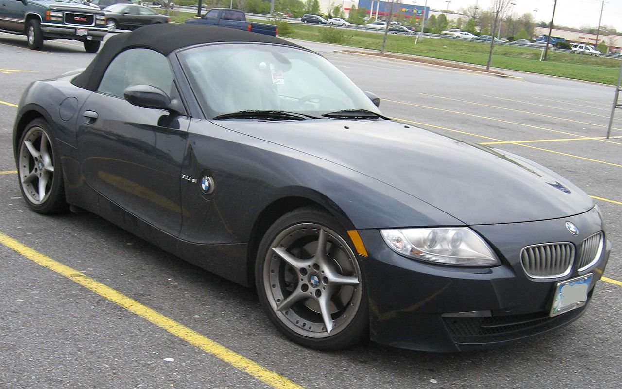File 06 07 Bmw Z4 Jpg Wikipedia