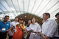 07.10 總統於尼伯特颱風過境後,於台東太麻里勘災 (28202066096).jpg