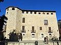 075 Monestir de Sant Cugat del Vallès, palau abacial, façana sud.JPG