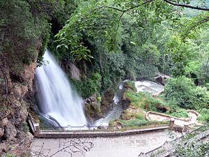 Wasserfall in Edessa