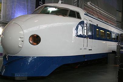 a japanese 0 series shinkansen no22 141 at the nrm 2007