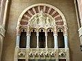 094 Hospital de Sant Pau, edifici d'Administració, sala d'actes, galeria porticada.JPG