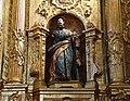 09c Villafrades de Campos Iglesia San Juan Evangelista Retablo mayor Ni.jpg