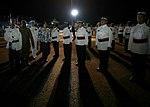 11.01 總統抵達索羅門群島,在機場歡迎儀式中,兩國國歌演奏畢,儀隊指揮官請蔡總統檢閱儀隊及樂隊 (38035589646).jpg