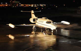 103d Airlift Wing - 118th Airlift Squadron C-21A Learjet.