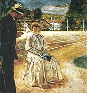 Le tennis, huile sur toile, Edouard Vuillard, 1907