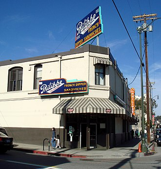 Bill Binder - Philippe's in downtown Los Angeles, which Binder ran until 1985.
