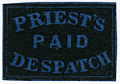 121L5 1851 Priest's Despatch - Paid (2c blue) Forgery A.jpg
