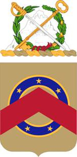 Coats of arms of U.S. Army units - Image: 125 Spt Bn COA