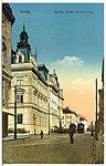 12742-Aussig-1911-Teplitzer Straße und K. K. Post-Brück & Sohn Kunstverlag.jpg
