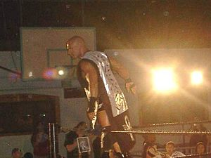 Christopher Daniels - Christopher Daniels at an event in Quincy, Massachusetts in 2005