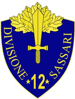 12th Infantry Division Sassari