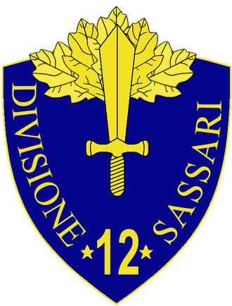 12th Infantry Division Sassari - 12th Infantry Division Sassari Insignia
