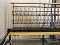 135 mNACTEC, la Fàbrica Tèxtil, selfactina, bobines de fil.jpg