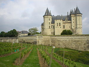 Château de Saumur - The château at Saumur