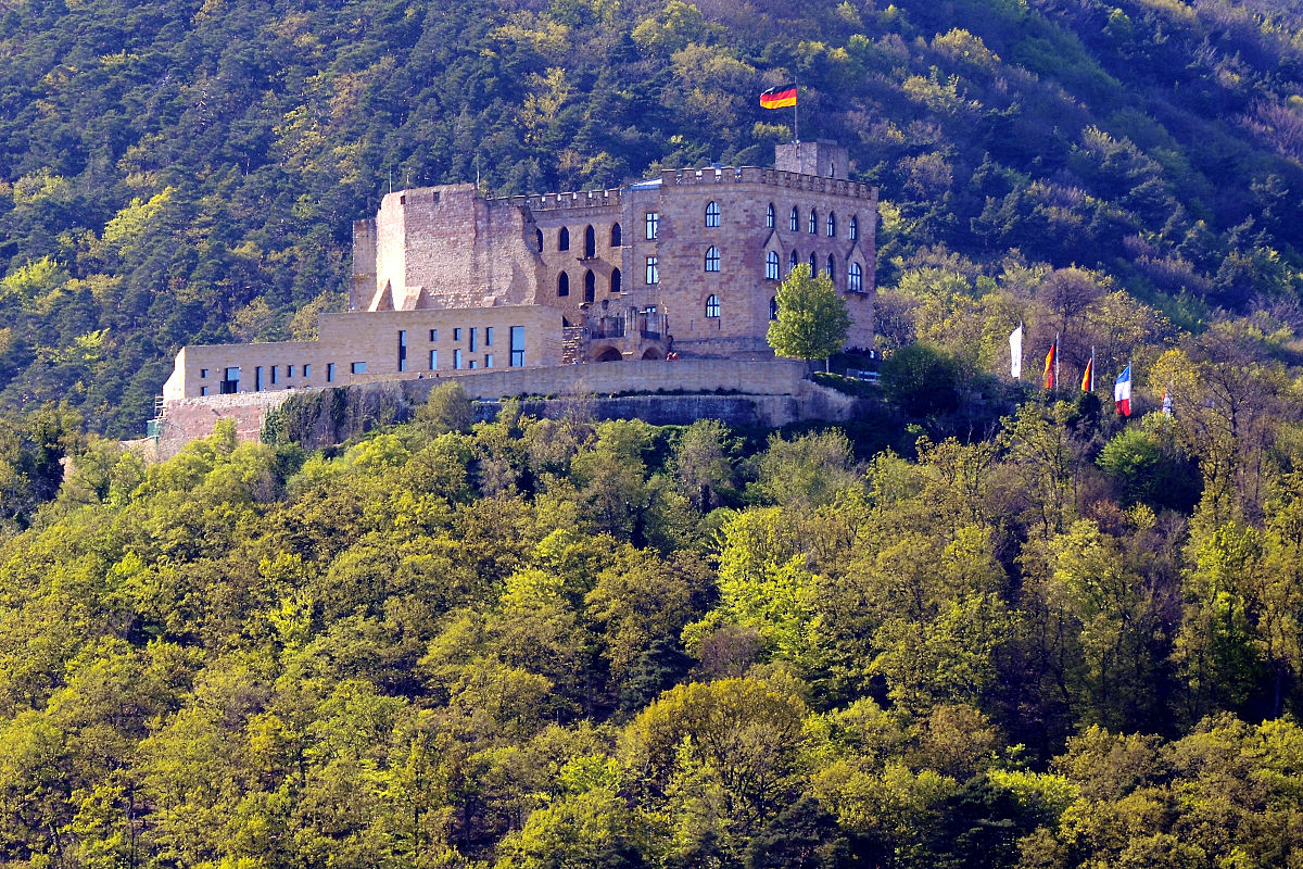 New Modern Front Elevation : Hambach castle wikipedia