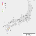 1662 Tontokoro earthquake intensity.png
