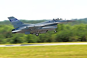 169th Fighter Wing - F-16 takeoff-closeup.jpg