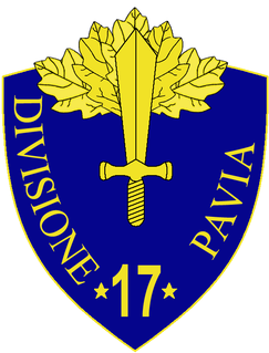 17th Infantry Division Pavia