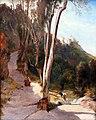 1830 Blechen Weg nach Castel Gandolfo anagoria.JPG